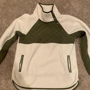 Abercrombie Fleece Button Up